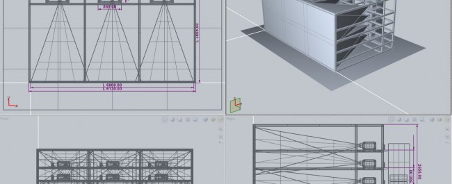 The powerwall  - design stage © NANCO